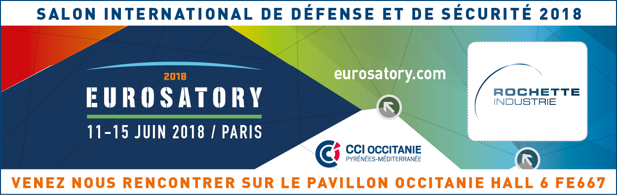 salon eurosatory paris rochette industrie