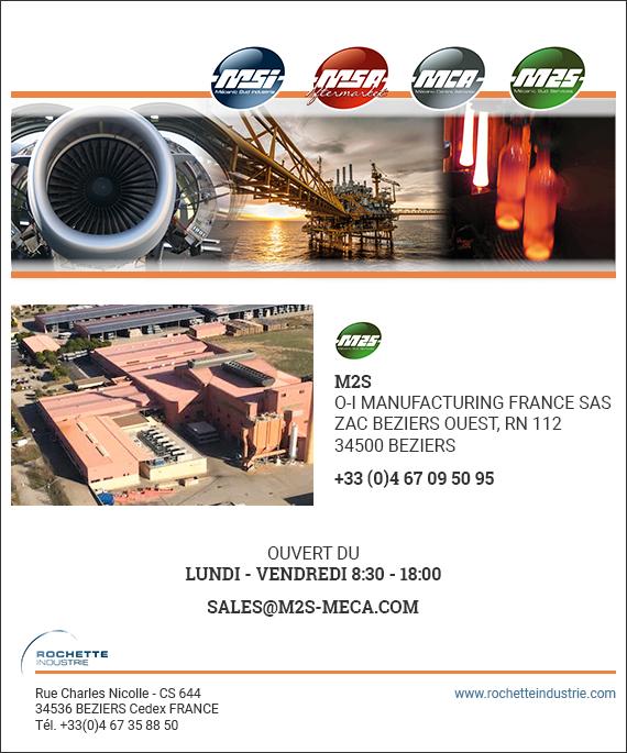 Formulaire de contact M2S rochette industrie mecanic sud service